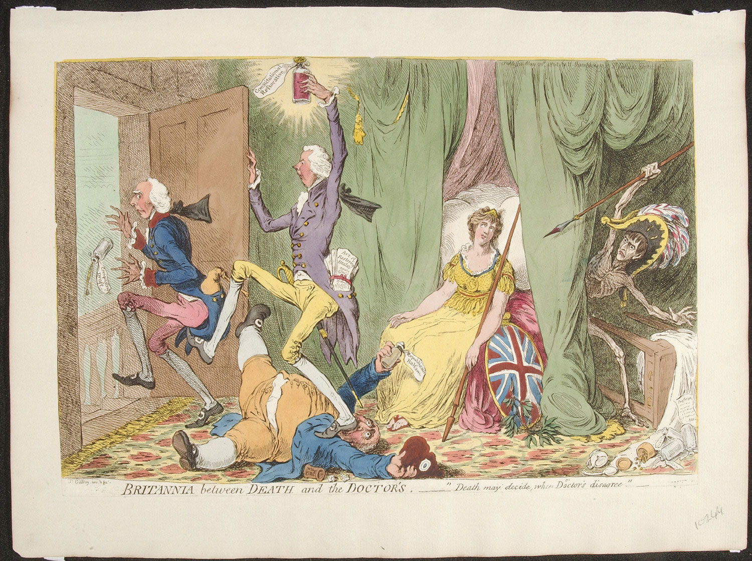 Britannia between Death and the Doctor's  -