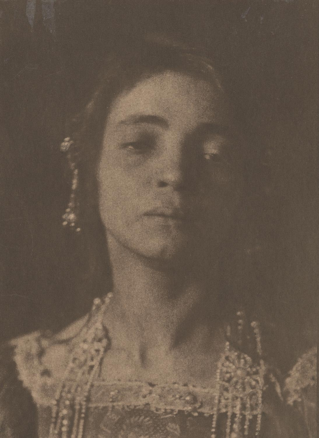 Untitled (Head of Young Woman)