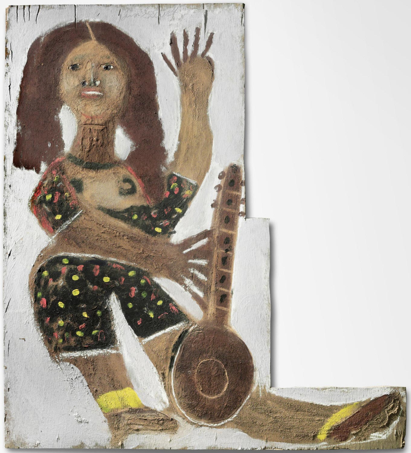 Large Figure with Musical Instrument