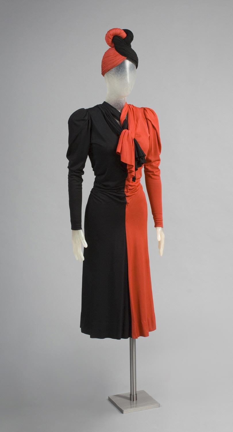 Woman's Dress and Hat