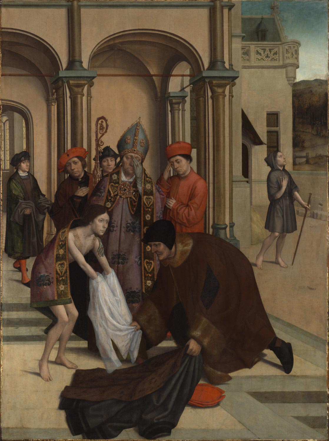 Saint Francis Renouncing the World for the Cloister