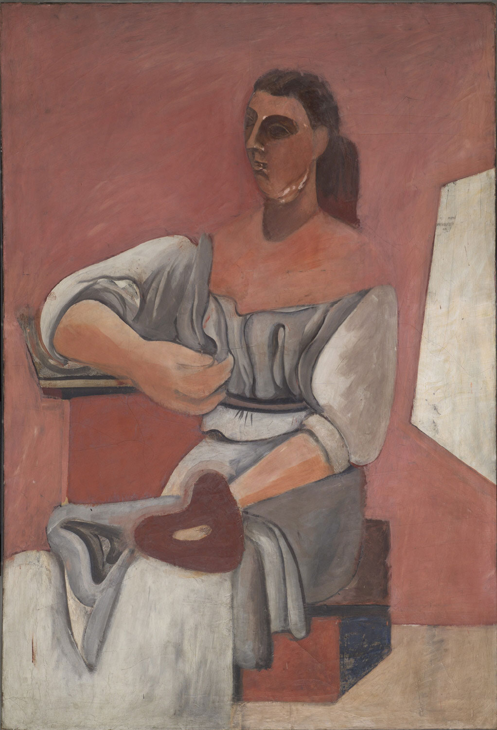Woman with a Palette