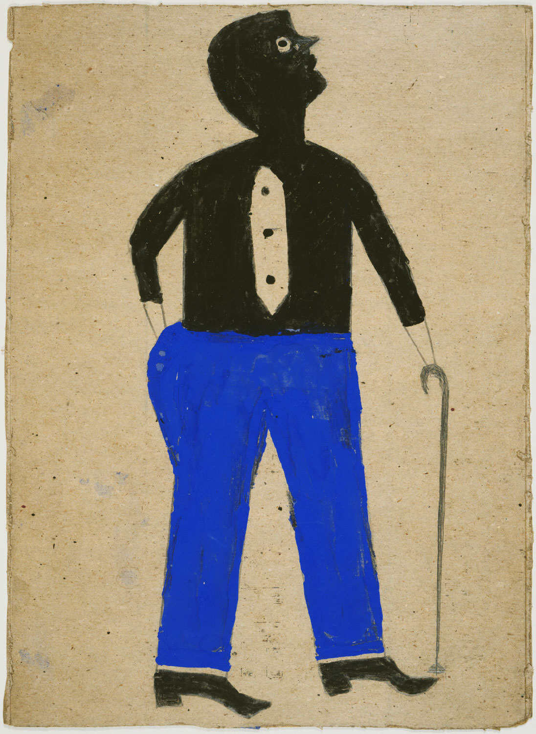 Man with Blue Pants