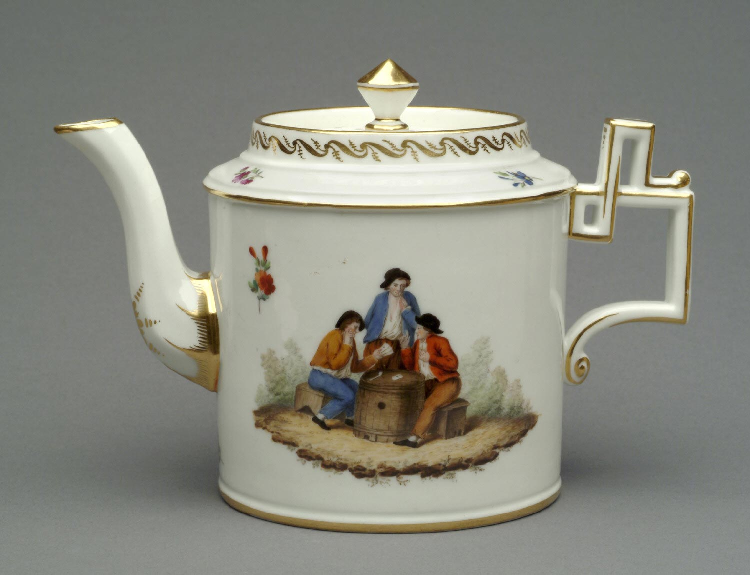 Teapot and Lid from Tea and Coffee Service