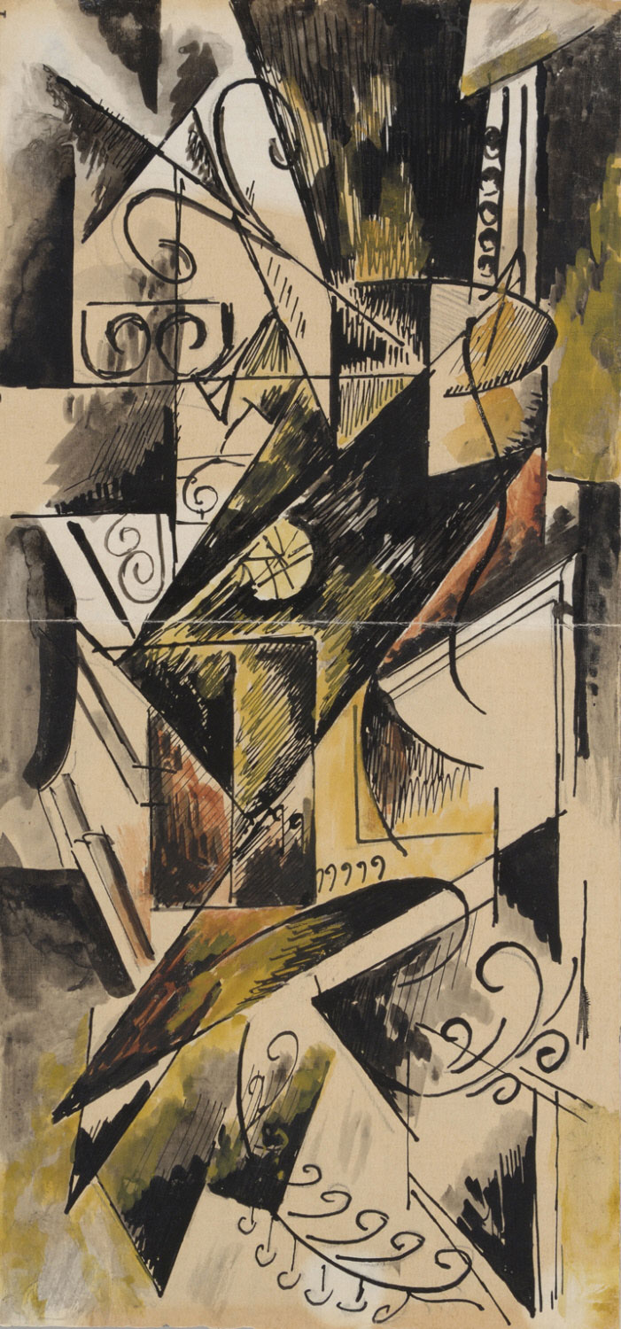 Cubist Composition (Untitled)