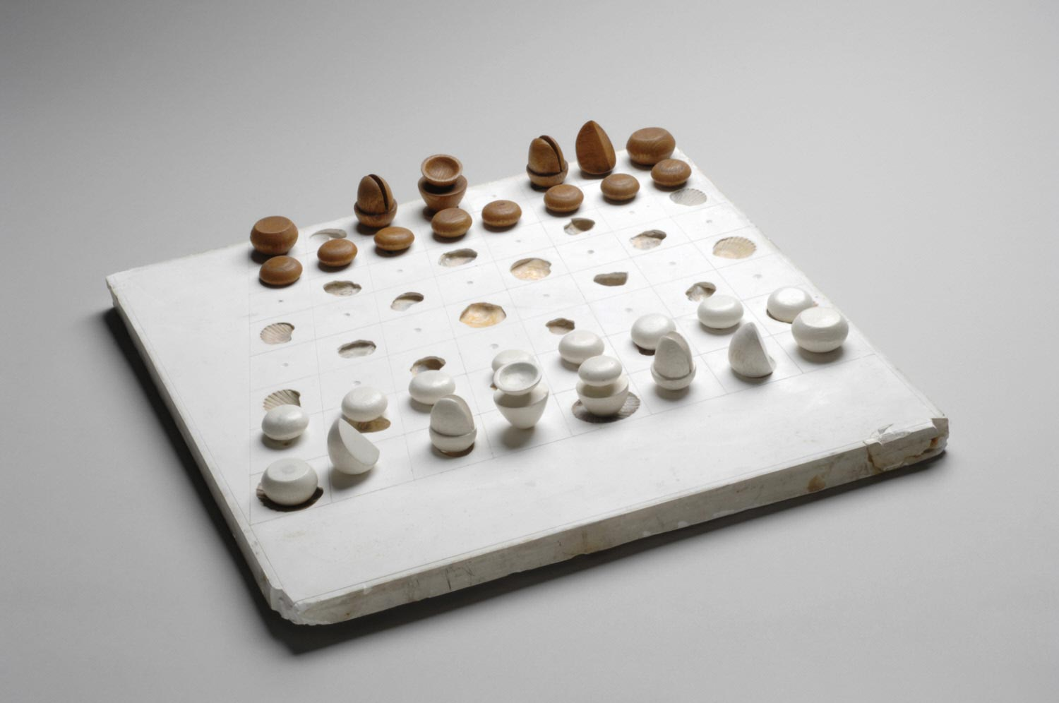 Chess Set: Board and Thirty Pieces