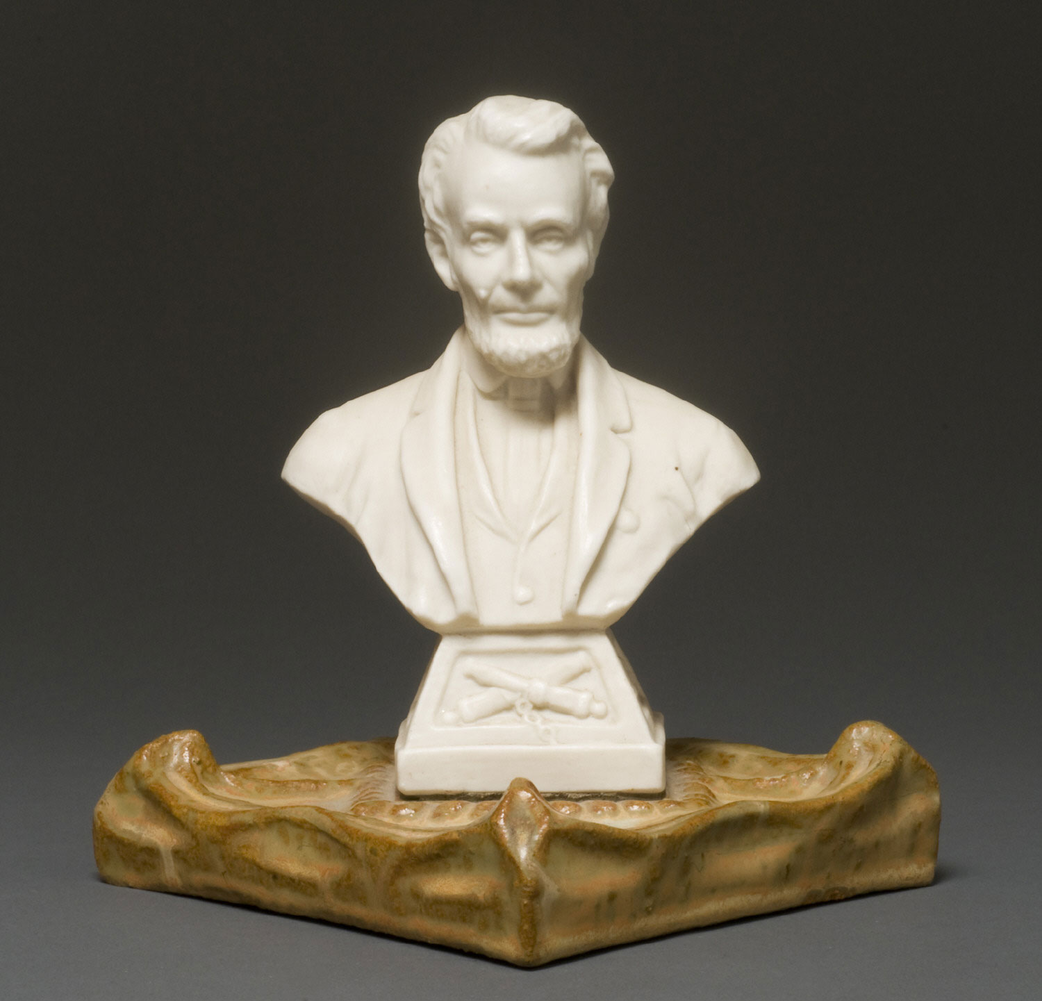 Tile with Bust of Abraham Lincoln