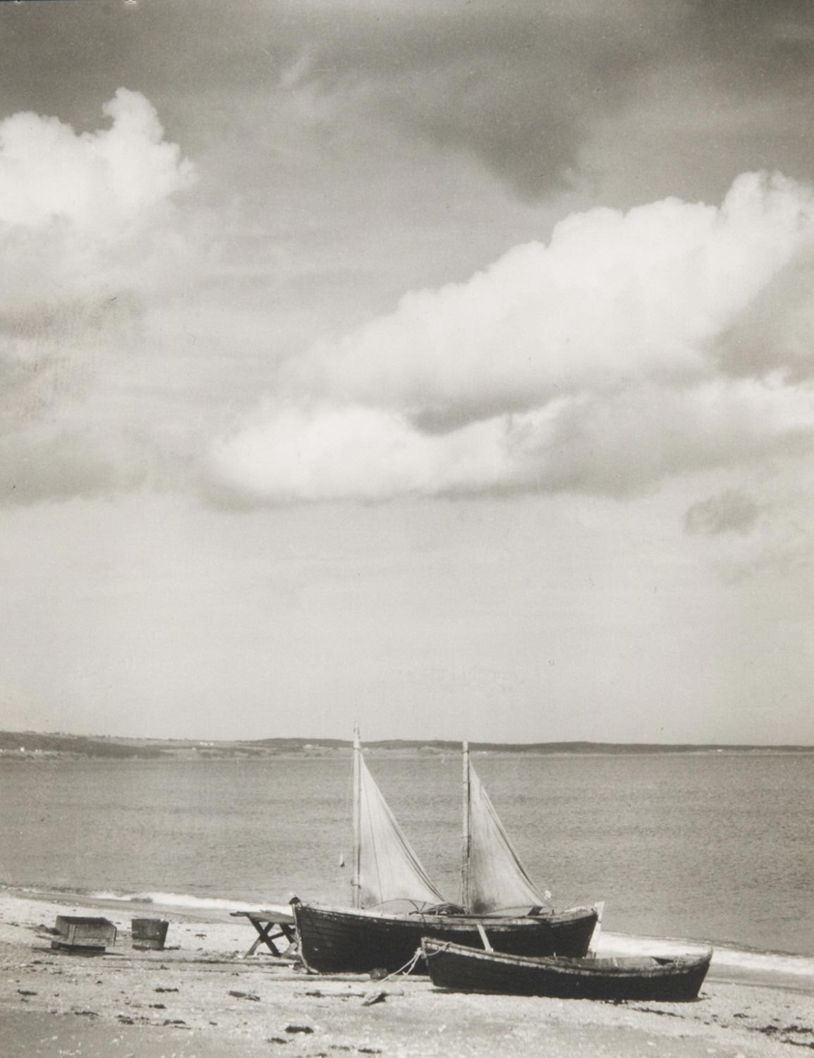 Boats on the Shore (Sails and Clouds), Percé, Gaspé