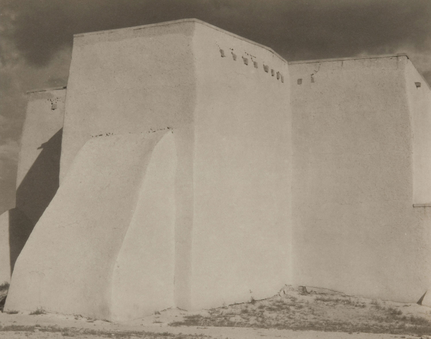 Church, Ranchos de Taos, New Mexico