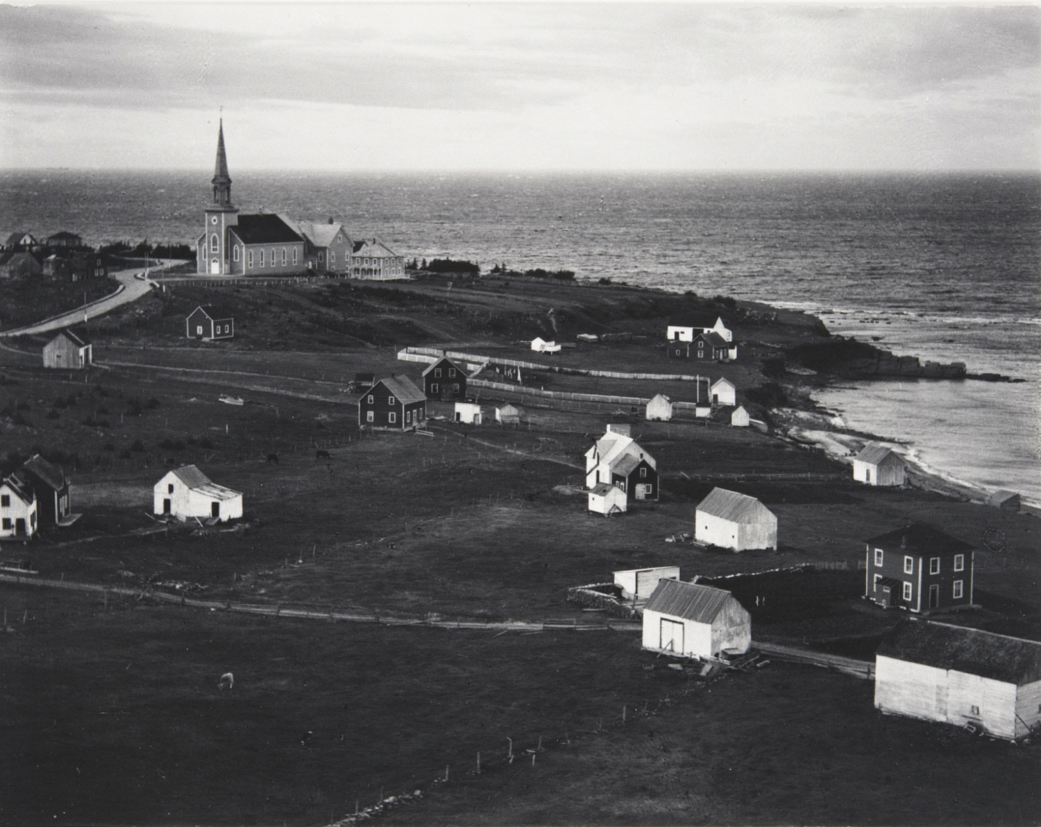 Fishing Village, Gulf of St. Lawrence, Gaspé