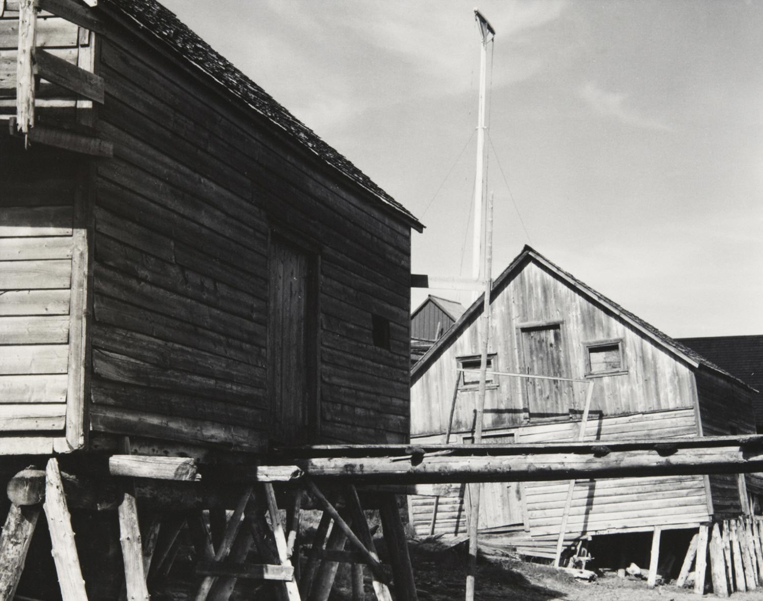 Boat House, Wolf River, Gaspé