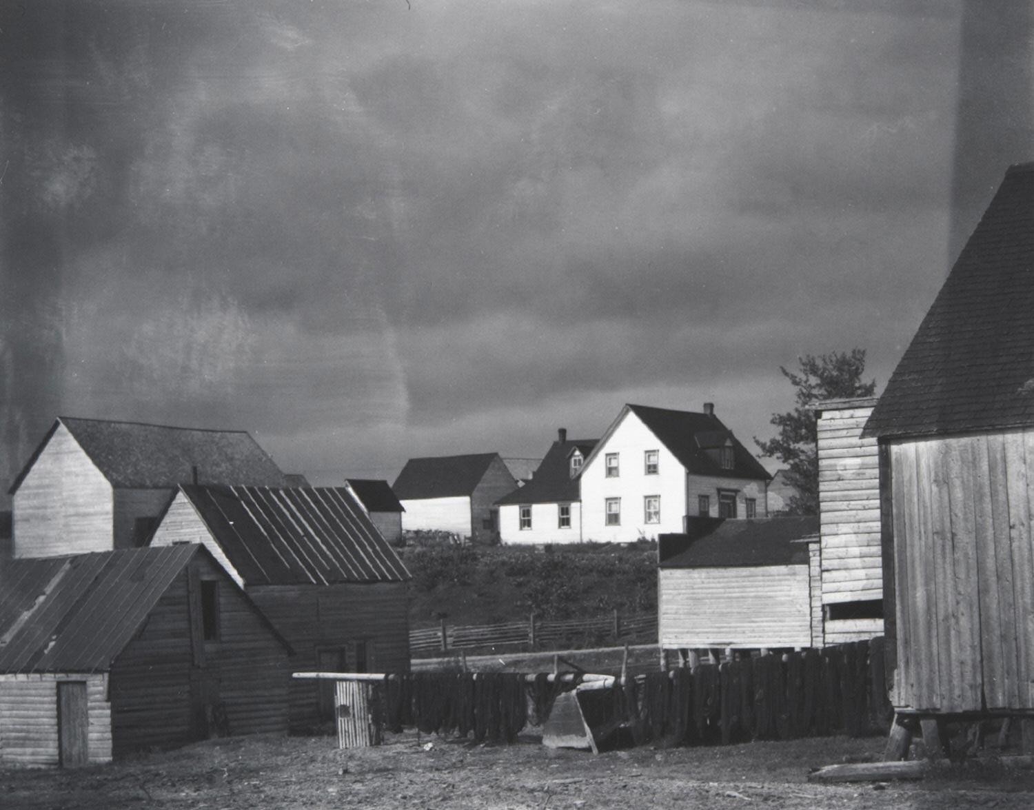 Boat Houses, Wolf River, Gaspé
