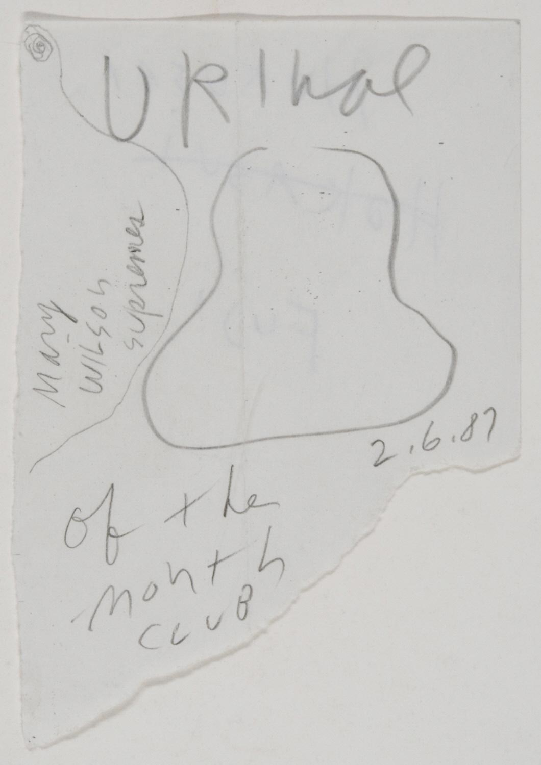 Urinal of the Month Club 2.6.87