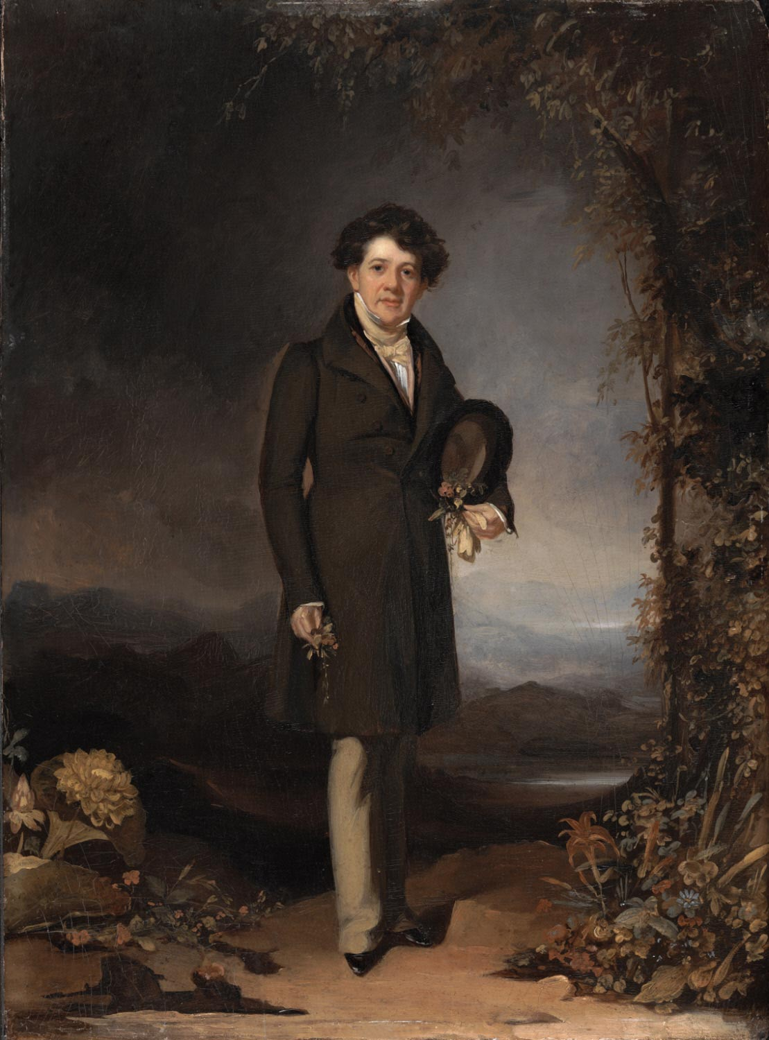 Portrait of Mr. William P. C. Barton, Professor of Botany, Physician, and Botanist