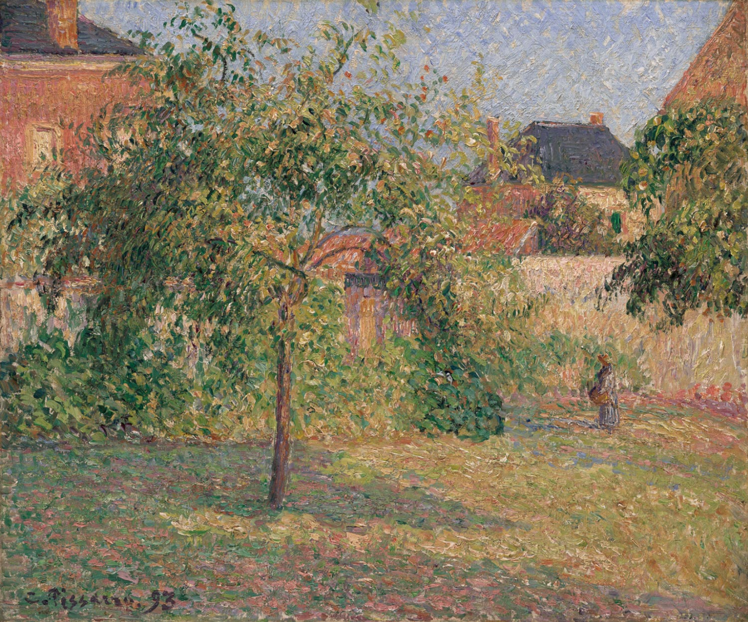 Apple Tree in the Meadow, Eragny