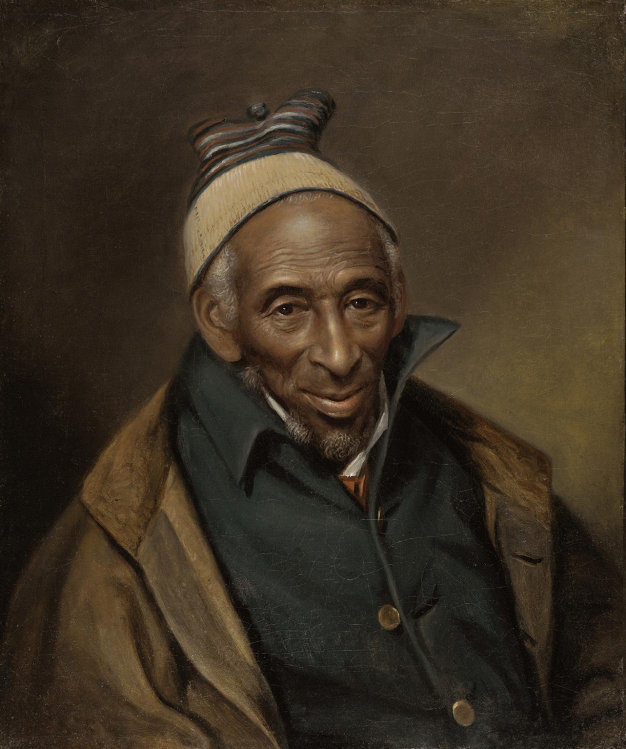 Portrait of Yarrow Mamout (Mamoud Yarrow)