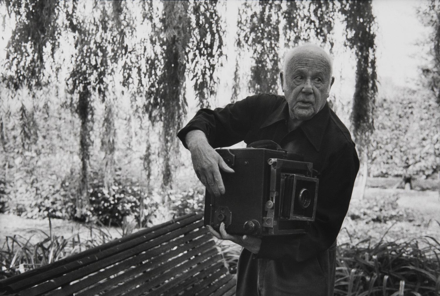 Portrait of Paul Strand at Orgeval