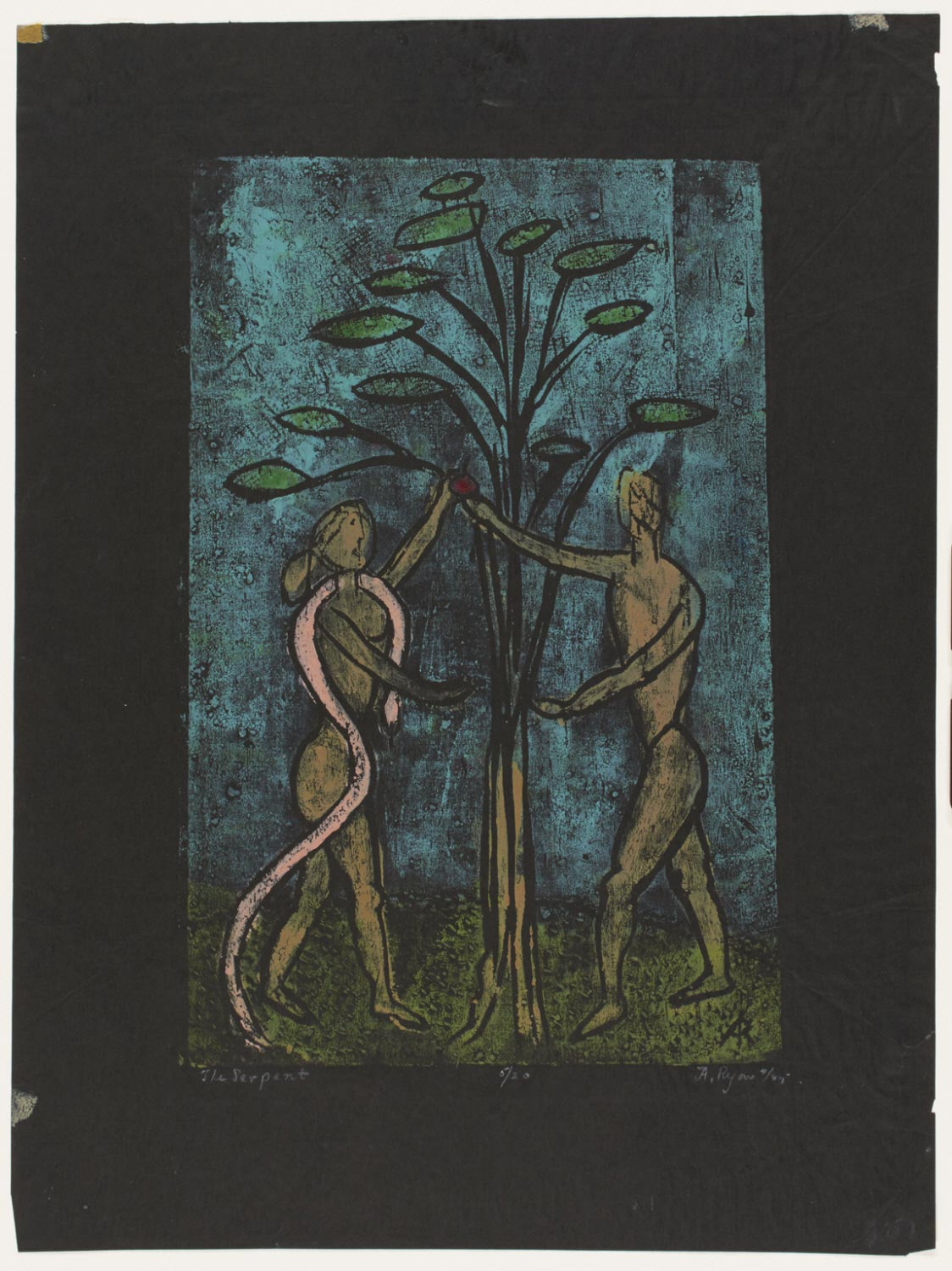 The Serpent (Adam and Eve)