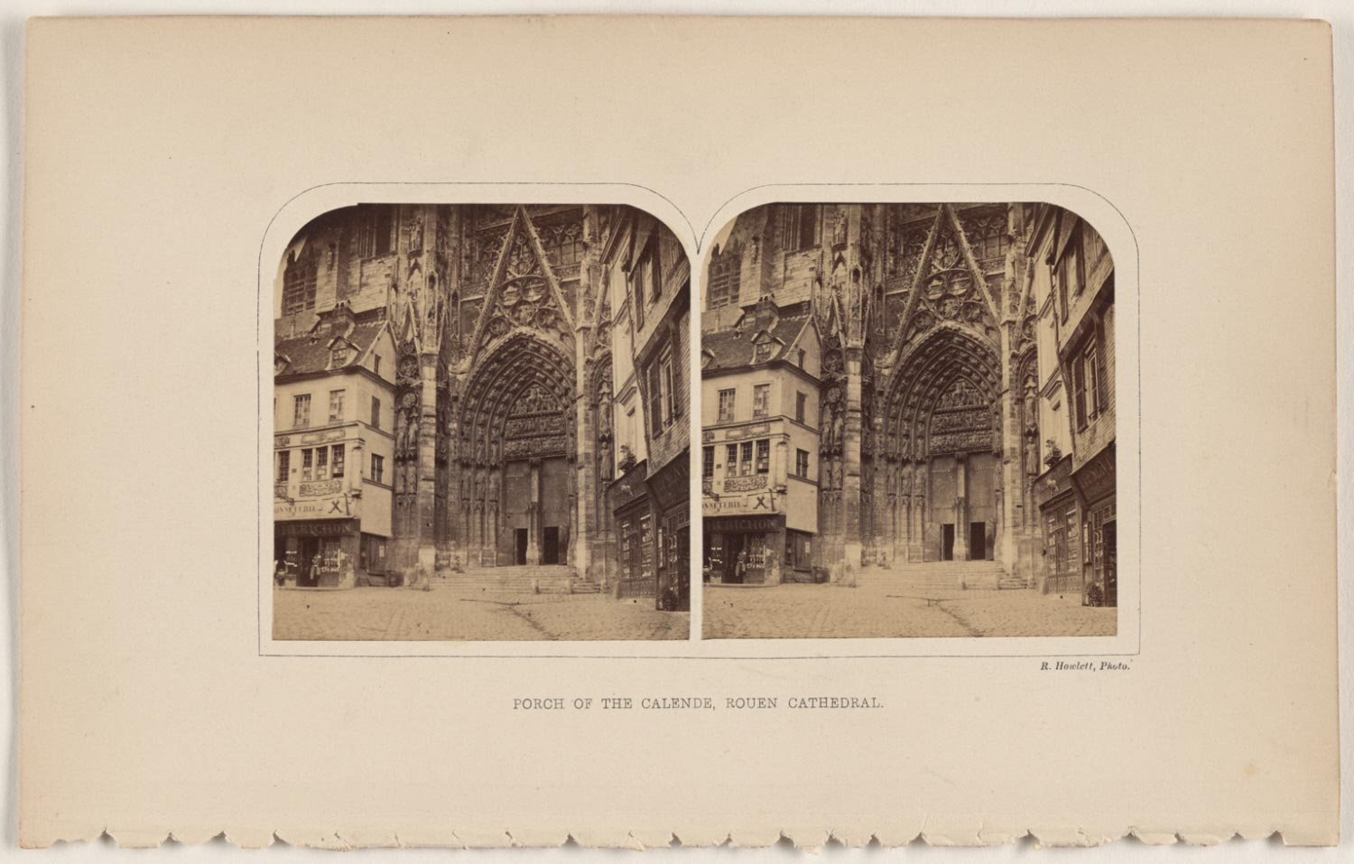 Porch of the Calende, Rouen Cathedral