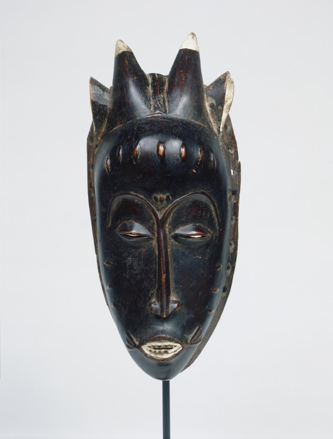 Female Mask with Horns