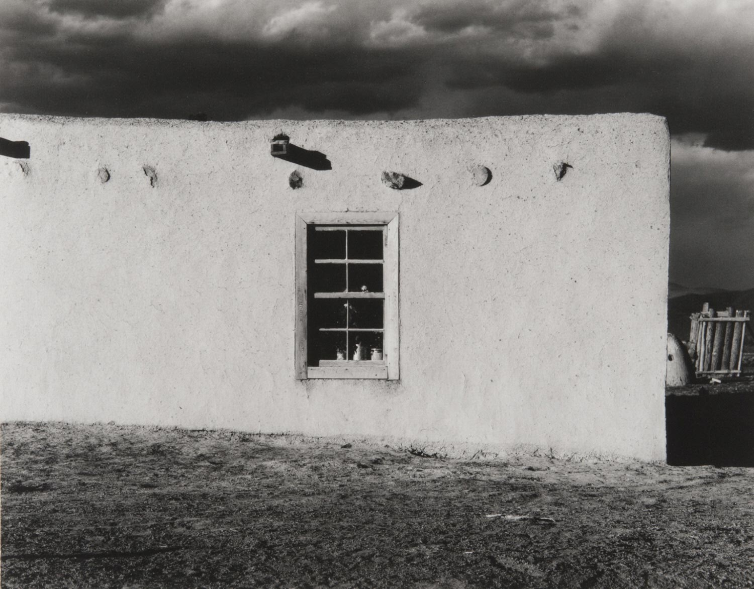 Adobe Facade, New Mexico