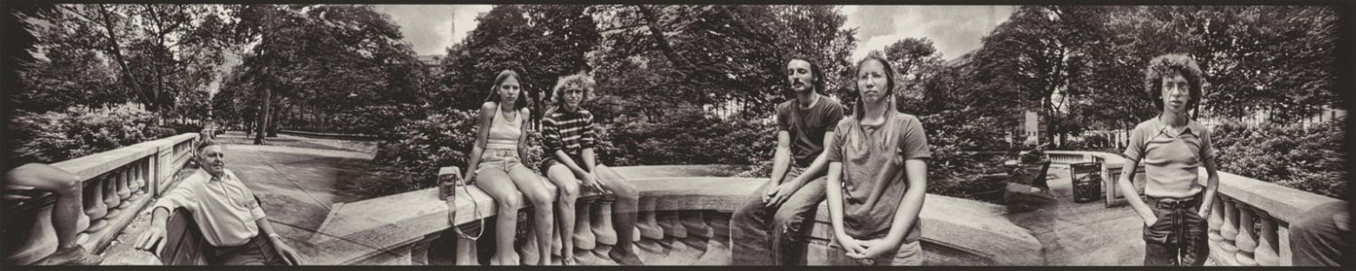 Charlie and His Friends, Rittenhouse Square, 1973