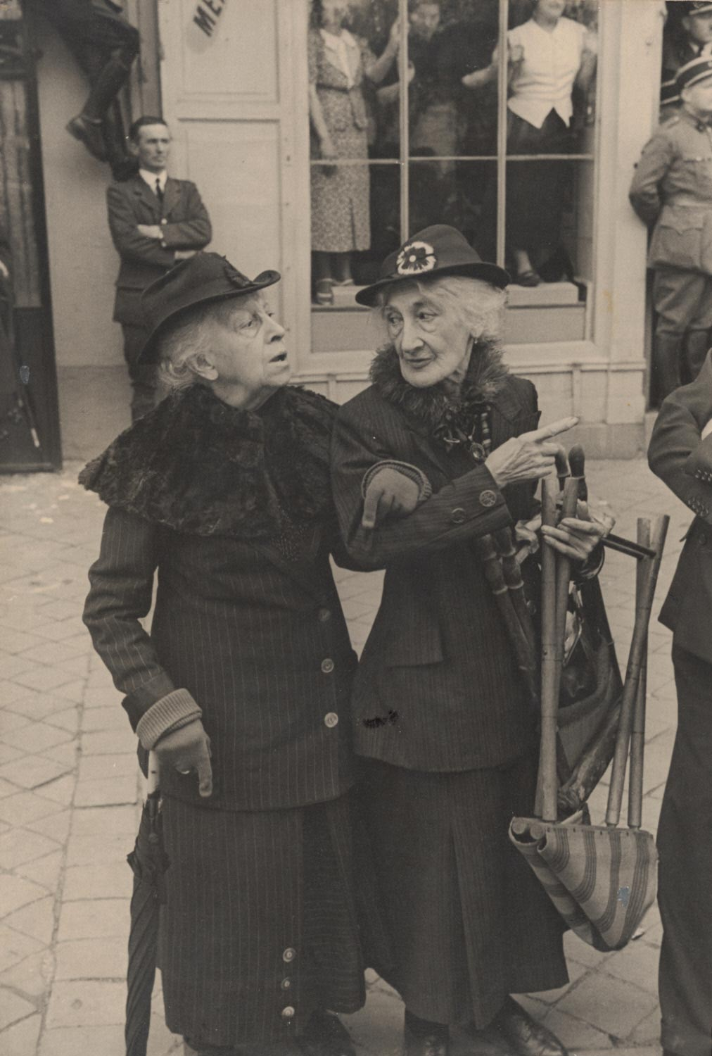 During the Visit of George VI of England to Versailles