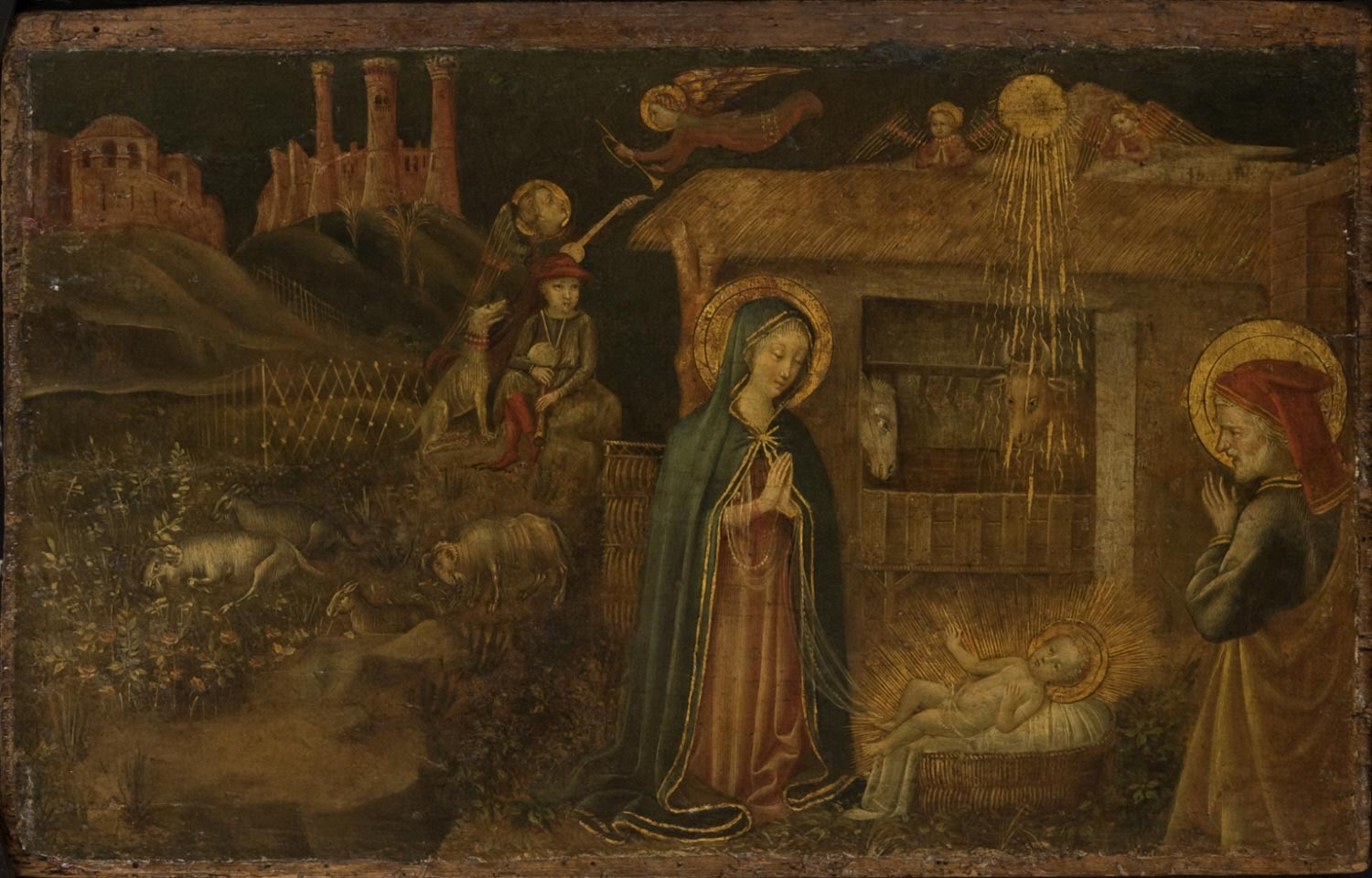 Nativity of Christ and Annunciation to the Shepherds