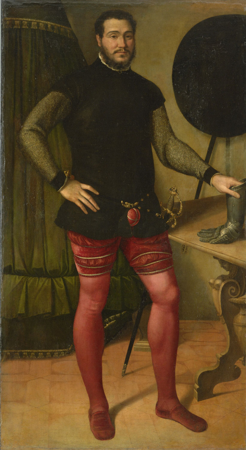 Portrait of a Nobleman with Dueling Gauntlet