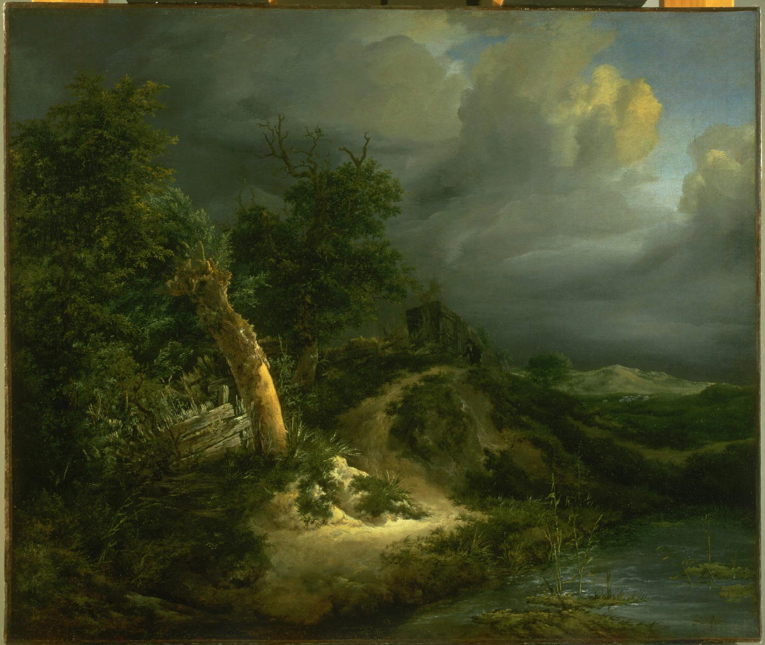 Storm on the Dunes