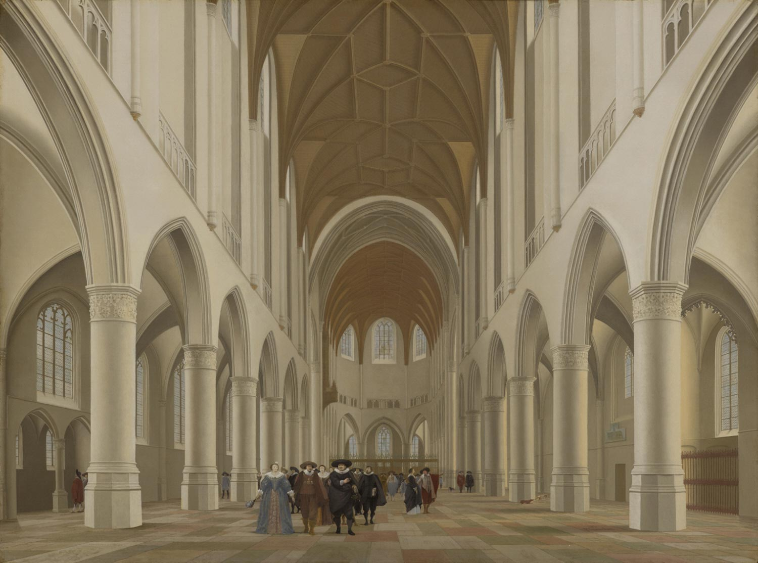Interior of Saint Bavo, Haarlem