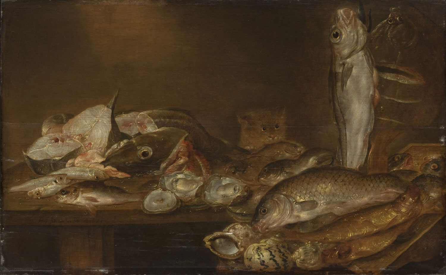 Still Life with Fish and Oysters