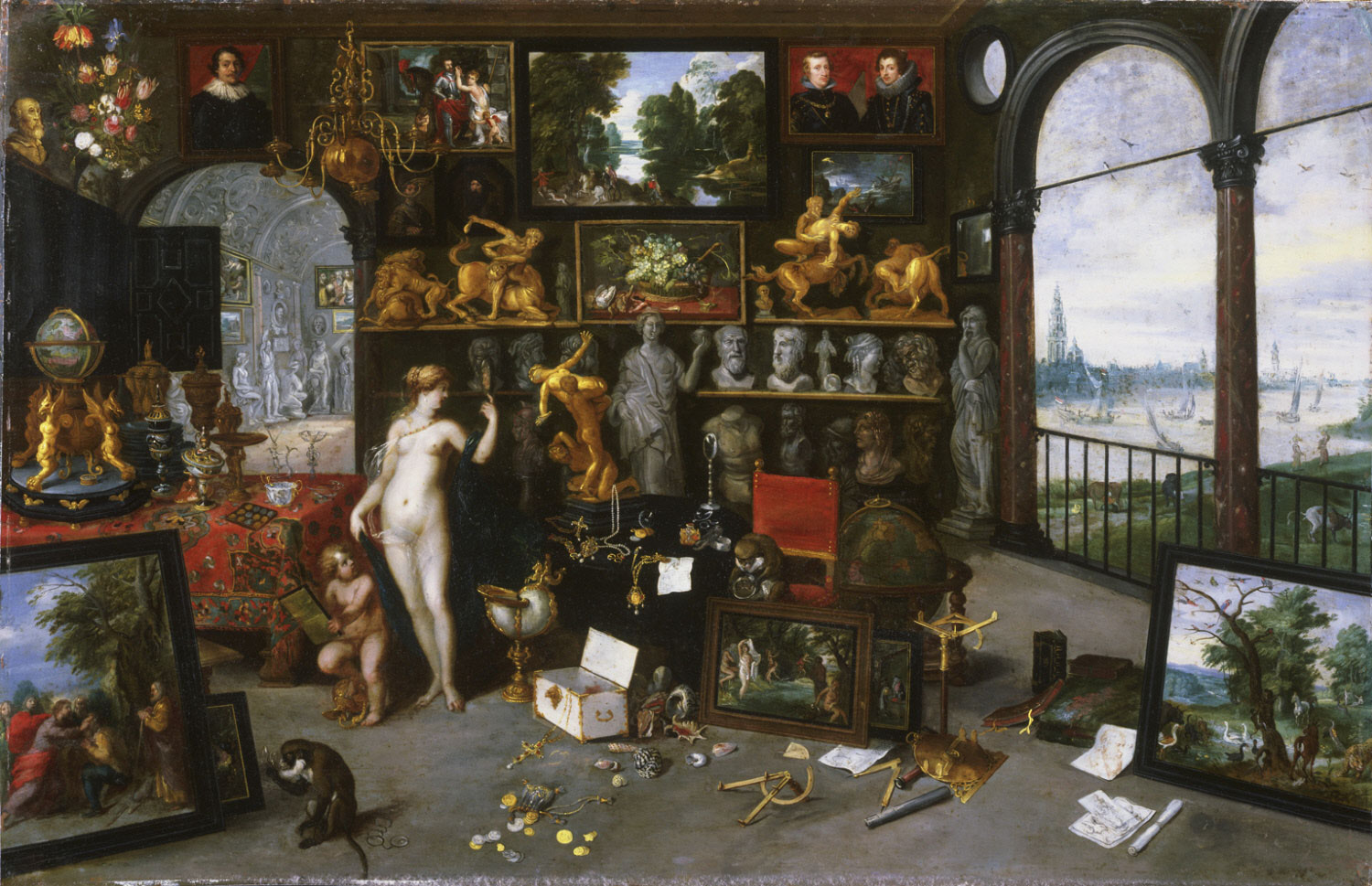 Allegory of Sight (Venus and Cupid in a Picture Gallery)