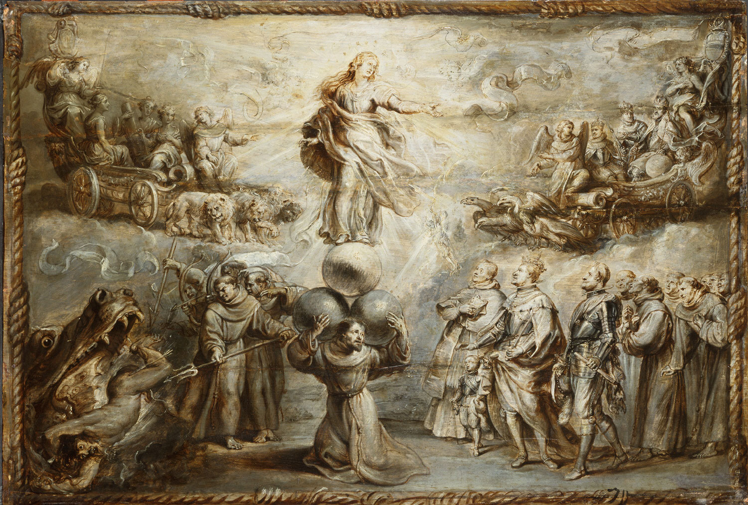 Franciscan Allegory in Honor of the Immaculate Conception