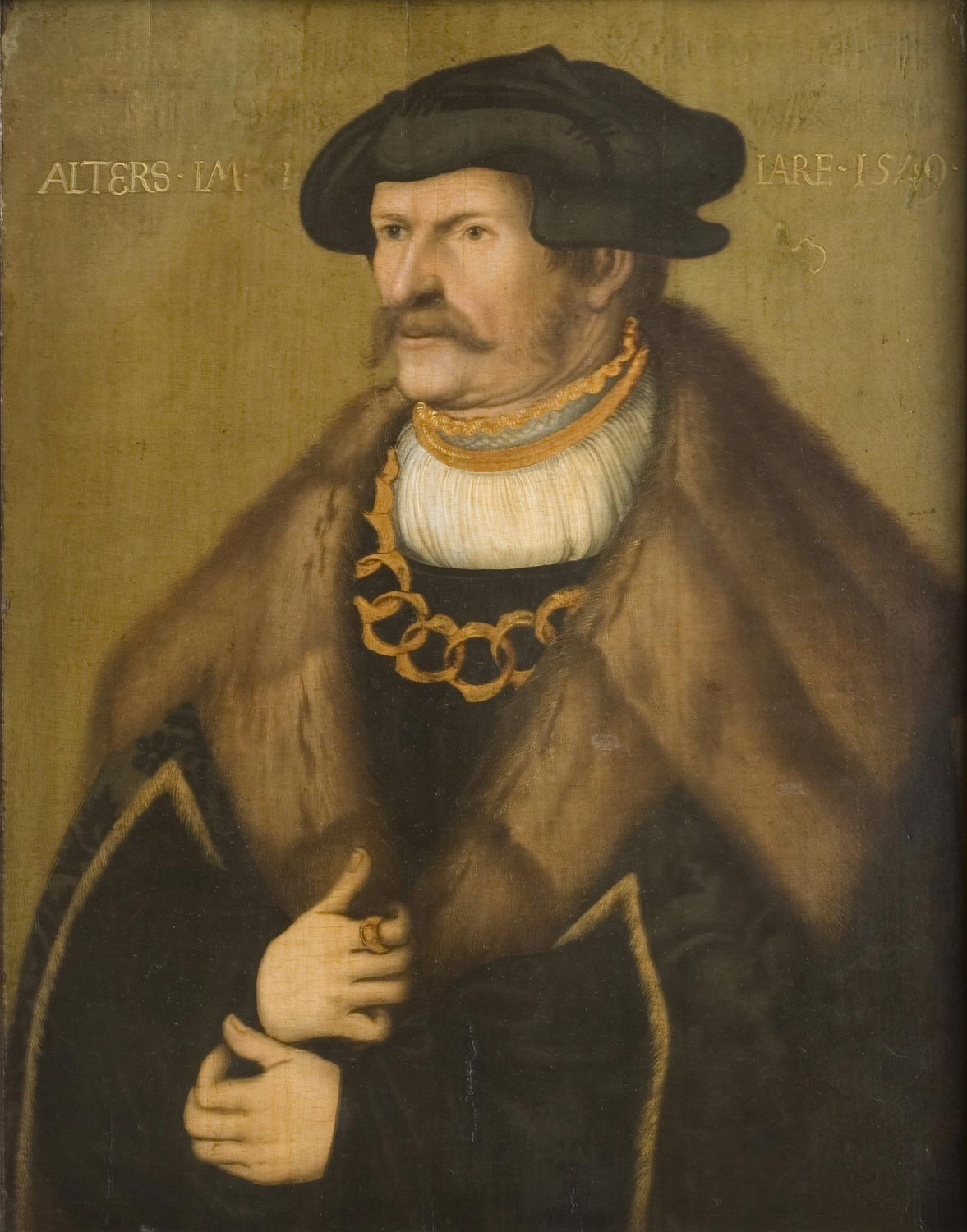 Portrait of a Nobleman (Possibly a Member of the Solms Family)