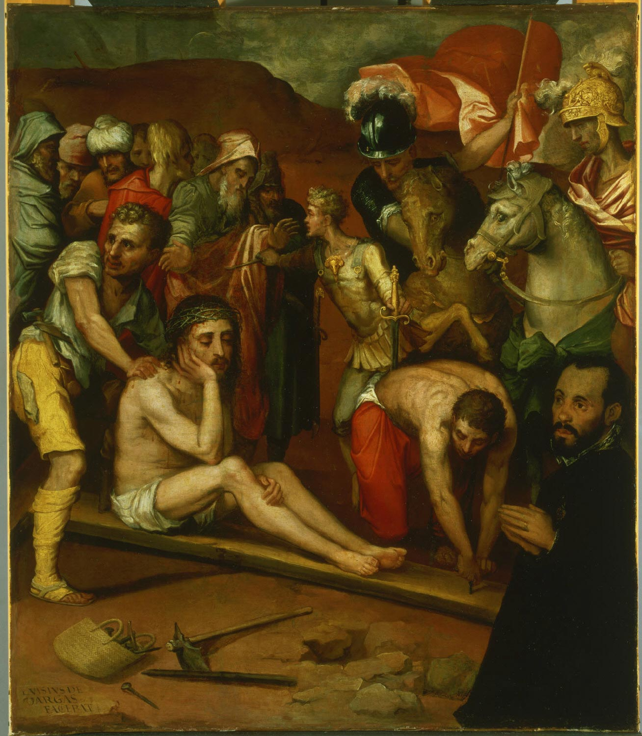 Preparations for the Crucifixion