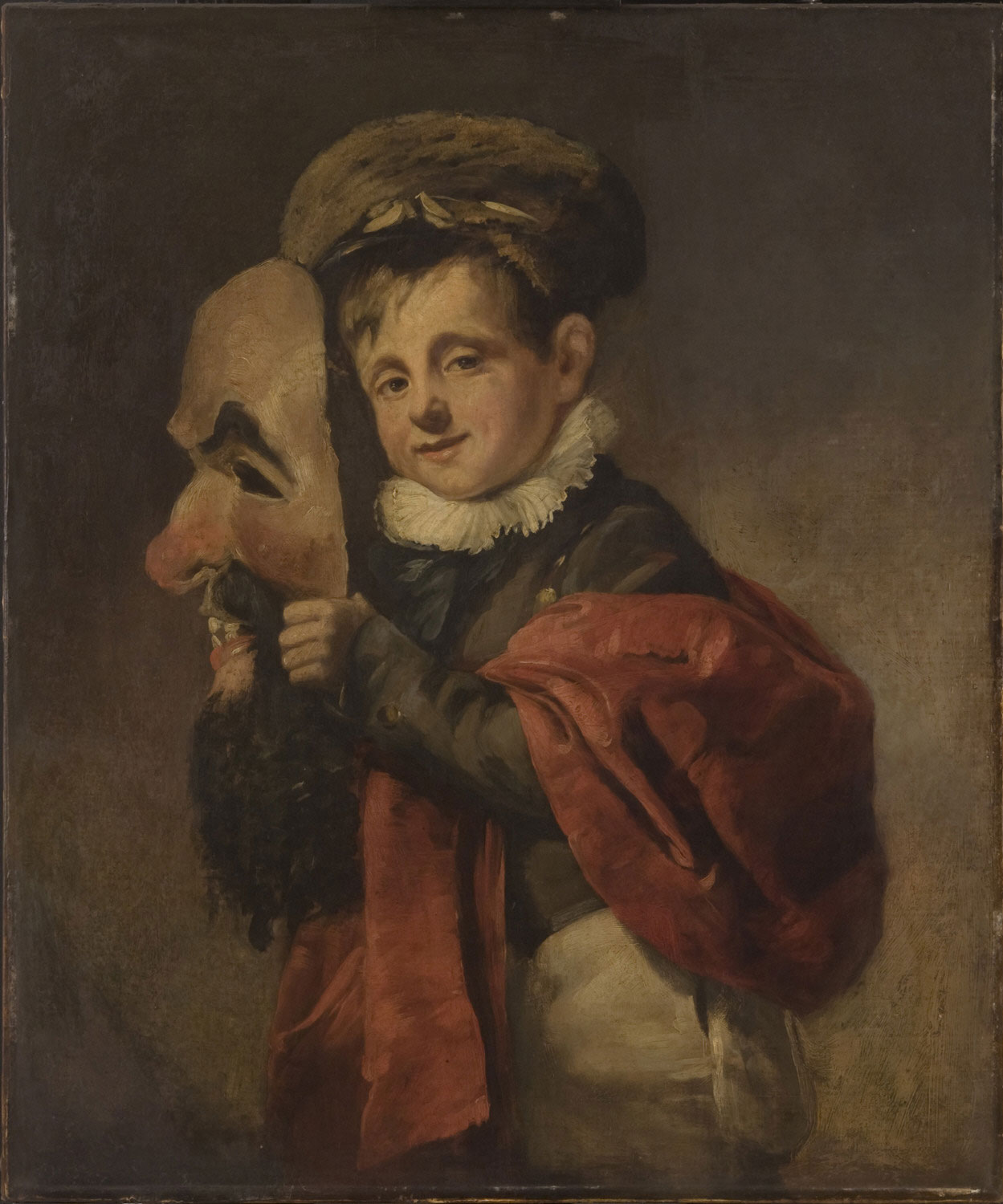 Boy with a Mask