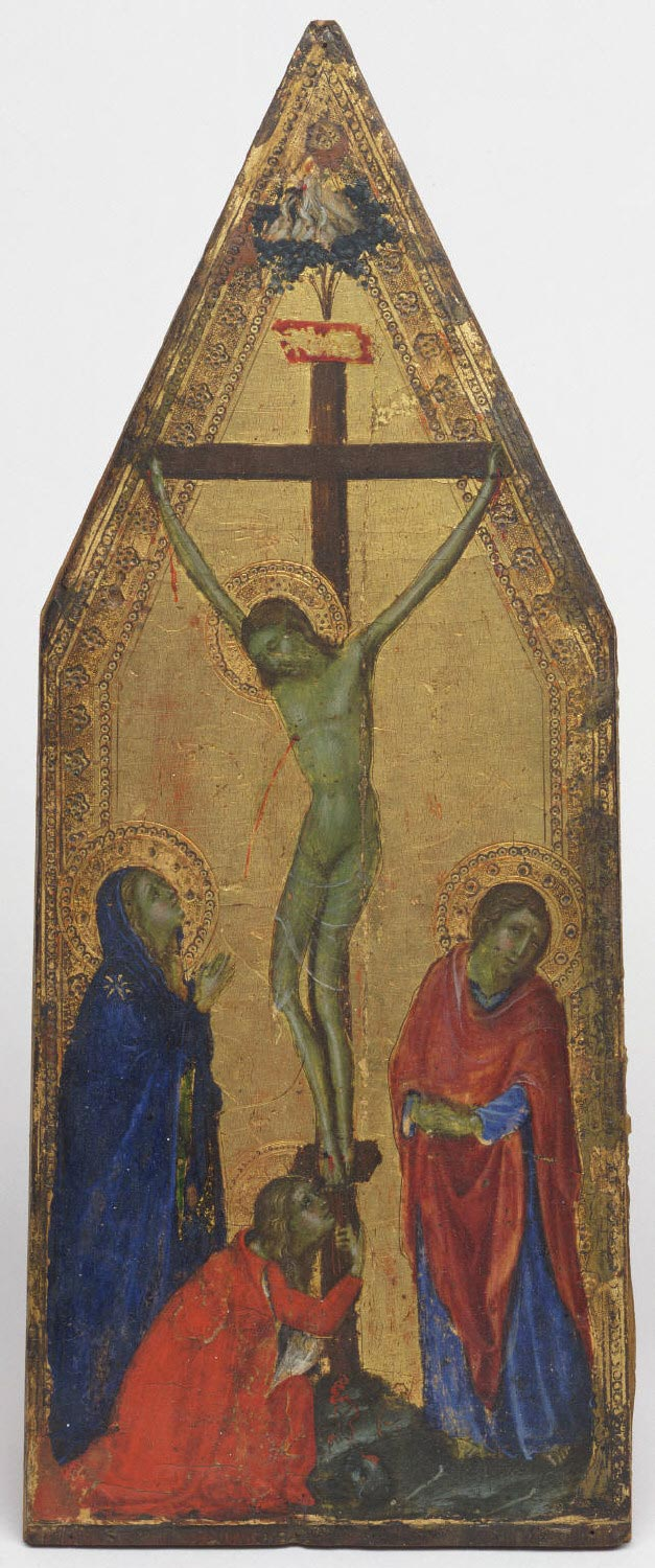Crucifixion with the Virgin and Saints John the Evangelist and Mary Magdalene