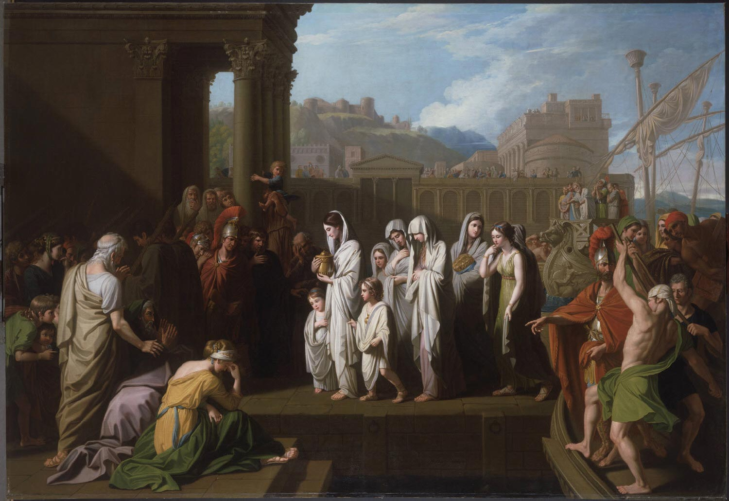 Agrippina Landing at Brundisium with the Ashes of Germanicus