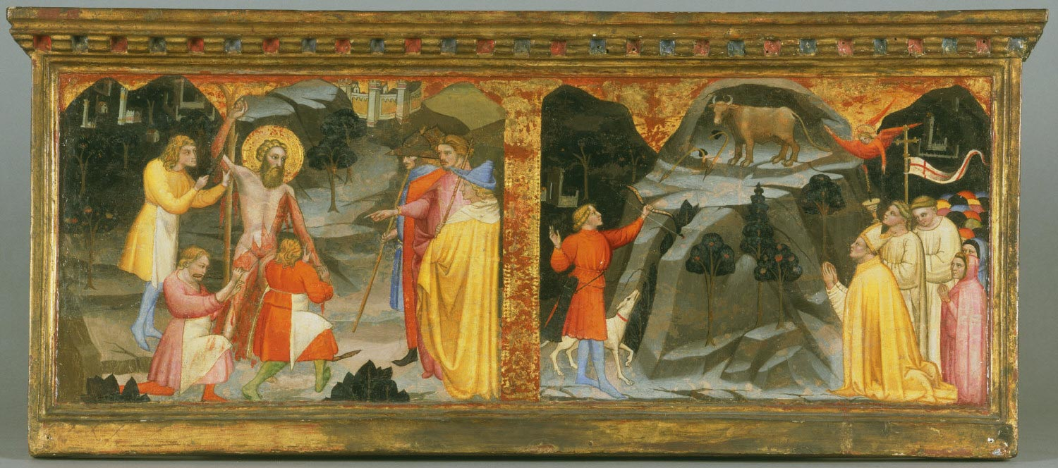 Martyrdom of Saint Bartholomew and the Miracle of the Bull