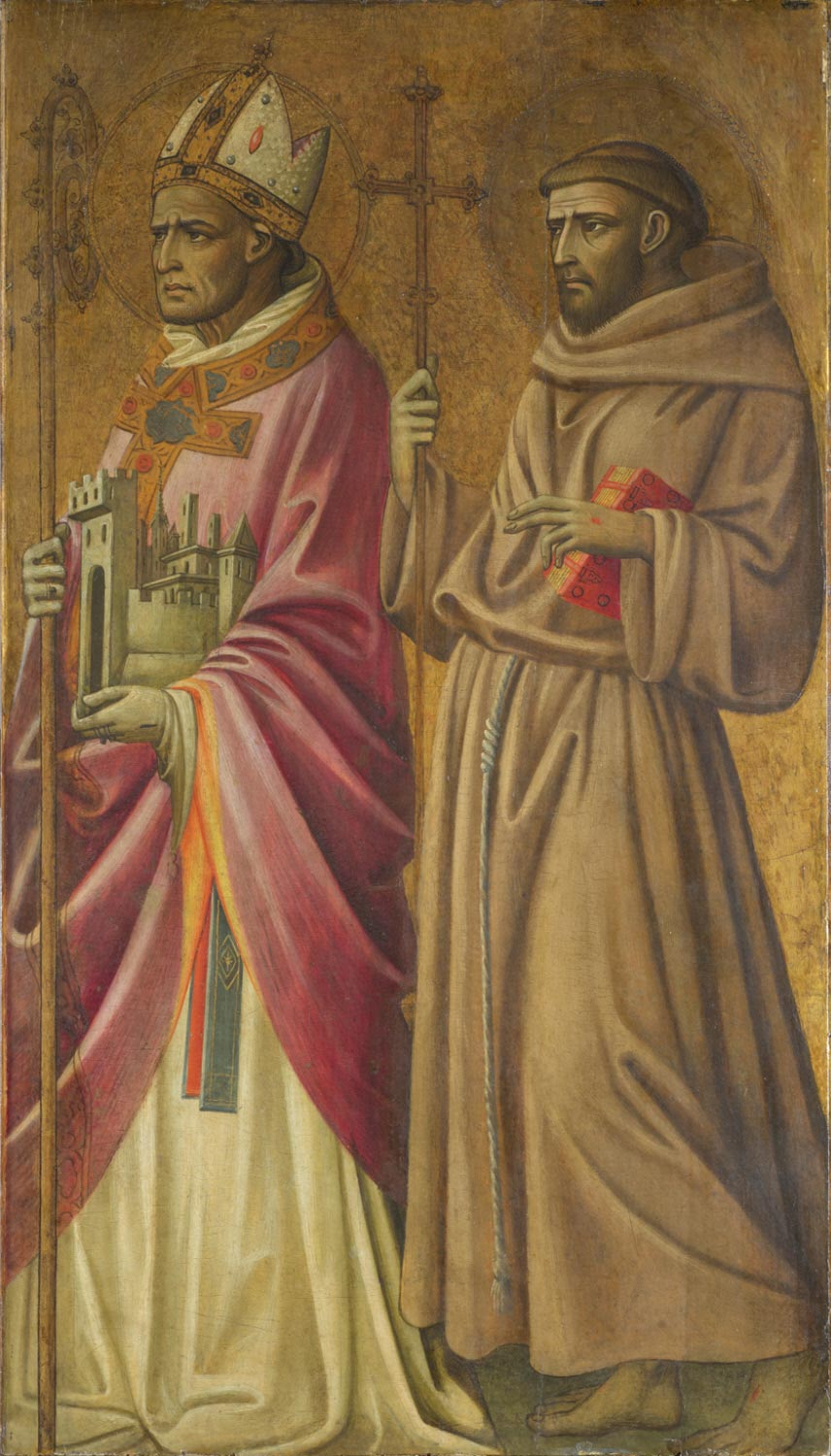 Saints Geminianus(?) and Francis of Assisi