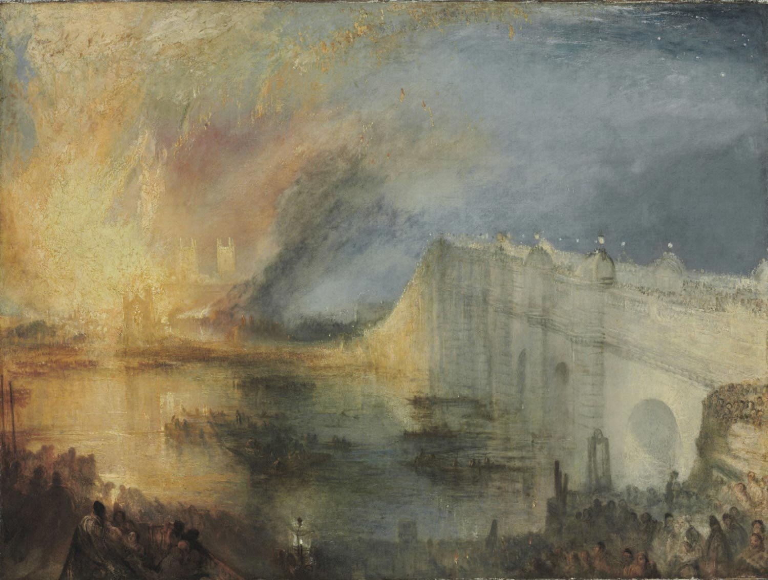 The Burning of the Houses of Lords and Commons, October 16, 1834