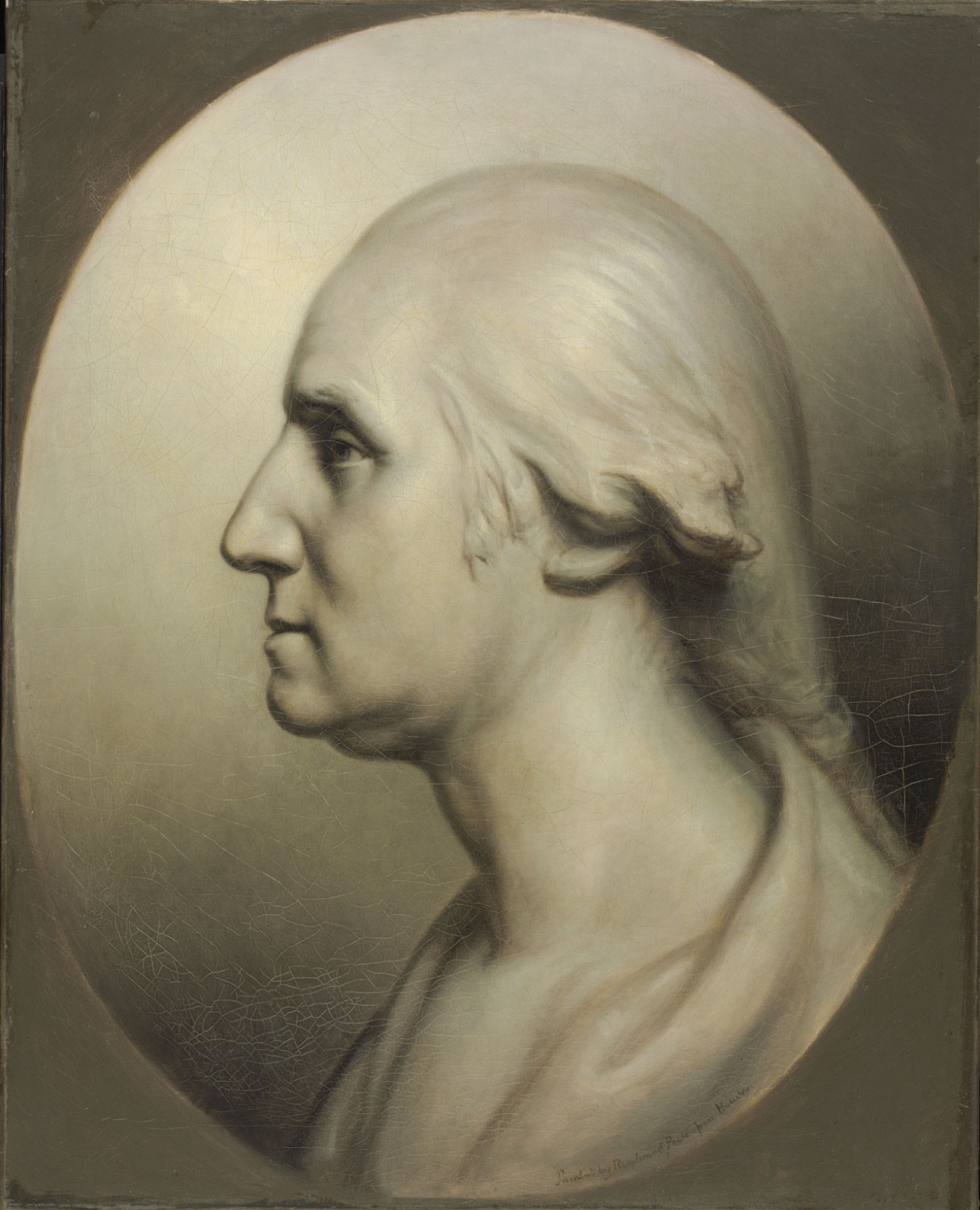 George Washington, Colossal Profile after Houdon