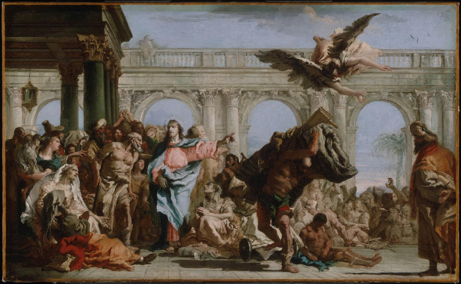 The Miracle of the Pool of Bethesda