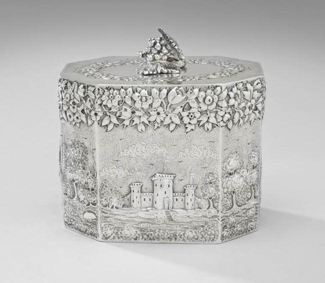 Tea Caddy, 1870-88