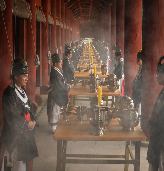 State Ritual at the Royal Ancestral Shrine