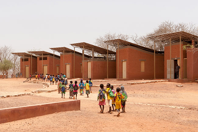 Opera Village, Laongo, Burkina Faso, begun 2009