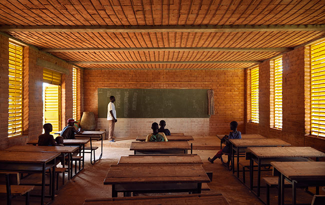 Primary School, Gando, Burkina Faso, 2001