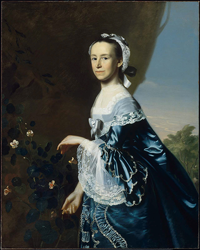 <i>Mrs. James Warren (Mercy Otis)</i>, c. 1763