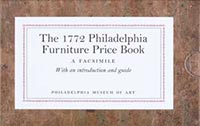 The 1772 Philadelphia Furniture Price Book: A Facsimile